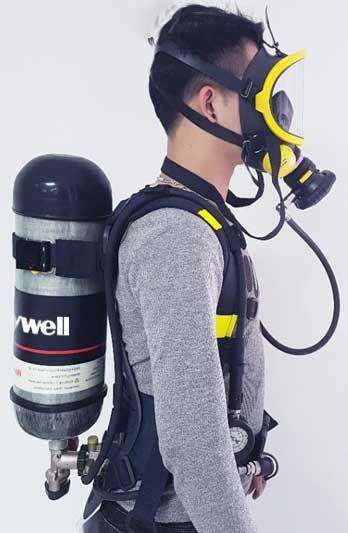 bo cap duong khi Honeywell SCBA T8000