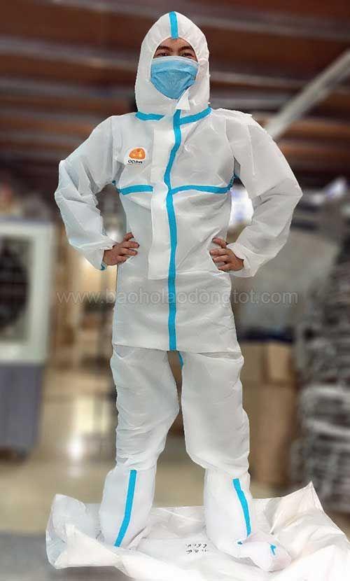 bộ quần áo phòng dịch