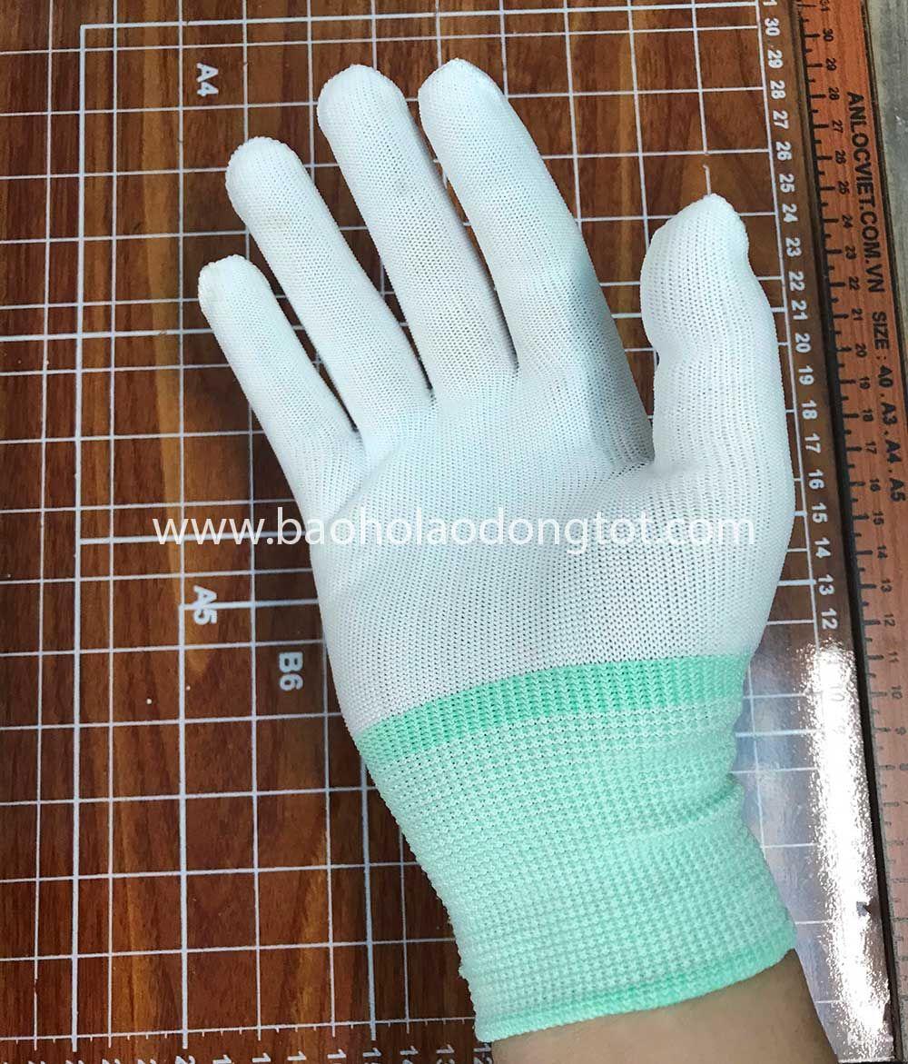 Găng tay polyester không phủ PU