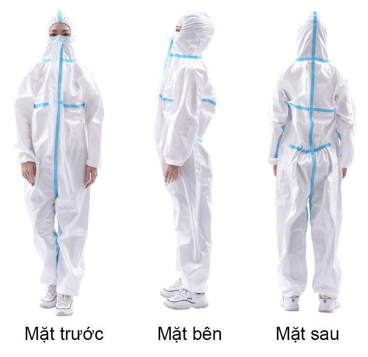 quần áo bảo hộ y tế dùng 1 lần
